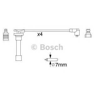 BOSCH 0986356821 Ккомплект проводов зажигания