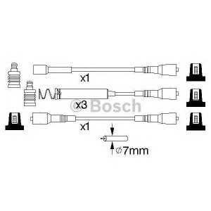 0986356850 bosch Комплект проводов зажигания OPEL FRONTERA Вездеход открытый 2.0 i (52SUD2, 55SUD2)