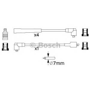 Комплект проводов зажигания 0986356859 bosch - MAZDA 323 III Station Wagon (BW) универсал 1.6 4x4