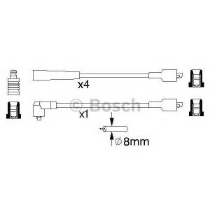 BOSCH 0 986 356 868 Провода высоковольтные (компл.) (пр-во Bosch)
