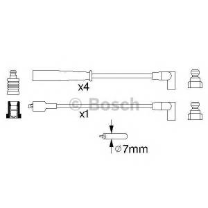 Комплект проводов зажигания 0986356873 bosch - FORD SCORPIO I (GAE, GGE) Наклонная задняя часть 2.0 i