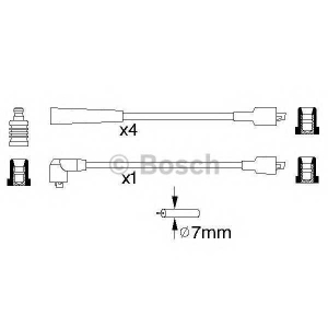 BOSCH 0986356874 Ignition cable set