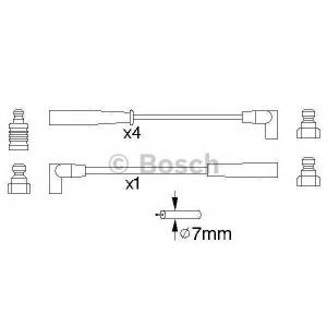 BOSCH 0986356888 Ккомплект проводов зажигания