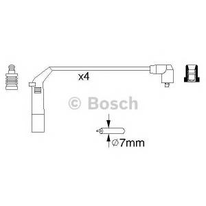 Комплект проводов зажигания 0986356898 bosch - HYUNDAI GETZ (TB) Наклонная задняя часть 1.3