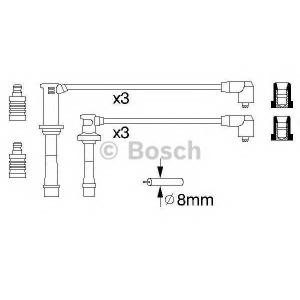 Комплект проводов зажигания 0986356966 bosch - MAZDA XEDOS 6 (CA) седан 2.0 V6