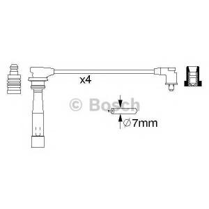 Комплект проводов зажигания 0986356970 bosch -