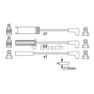 Комплект проводов зажигания 0986356972 bosch - DAEWOO CIELO (KLETN) Наклонная задняя часть 1.5