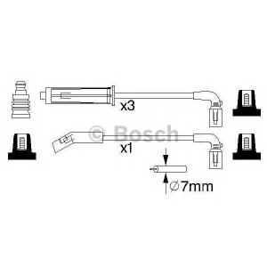 BOSCH 0986356980 Дріт високовольтний B 980