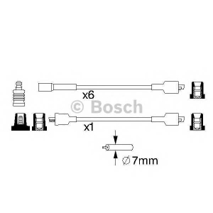 BOSCH 0986357011 Ignition cable set