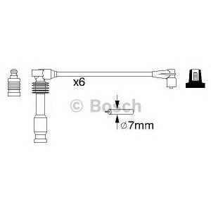 BOSCH 0986357055 Дріт високовольтний компл. В 055 OPEL Omega B ''94-01