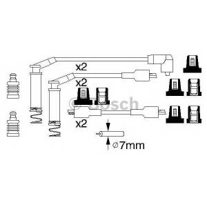 BOSCH 0986357125 Ккомплект проводов зажигания
