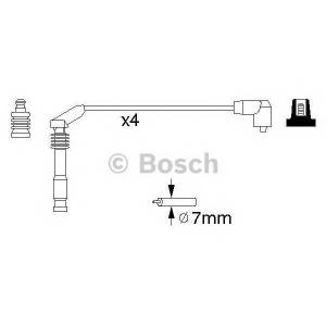 BOSCH 0986357126 Високовольтні кабелі