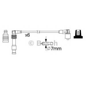 Комплект проводов зажигания 0986357162 bosch - OPEL VECTRA B Наклонная задняя часть (38_) Наклонная задняя часть 2.5 i V6