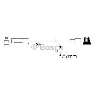 BOSCH 0 986 357 184 Провода высоковольтные (компл.) (пр-во Bosch)