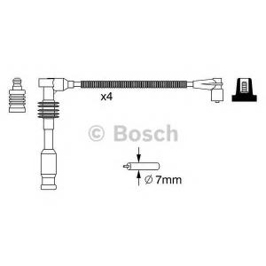 BOSCH 0986357234 Ккомплект проводов зажигания
