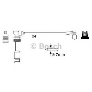 BOSCH 0986357237 Дріт високовольтний B 237