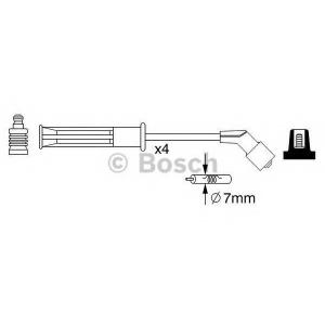 BOSCH 0986357255 Комплект кабелів високовольтних