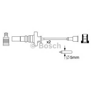 Комплект проводов зажигания 0986357273 bosch - MITSUBISHI COLT V (CJ_, CP_) Наклонная задняя часть 1300