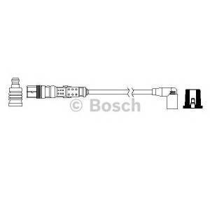 Провод высоковольтный VW; SKODA; SEAT 0986357733 bosch -