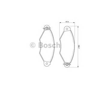 �������� ��������� �������, �������� ������ 0986424453 bosch - PEUGEOT 206 ��������� ������ ����� (2A/C) ��������� ������ ����� 1.1