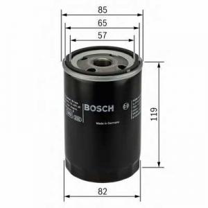 Масляный фильтр 0986452000 bosch - TOYOTA HIACE I фургон (H10) фургон 2.0 (RH25-32)