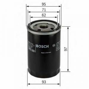 BOSCH 0986452003 Масляний фільтр 2003 TOYOTA Hiace,Hilux,Corolla,Corona,Camry -98