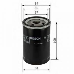 BOSCH 0986452023 Фільтр масляний
