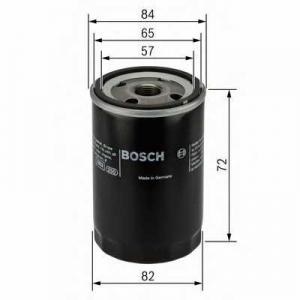 BOSCH 0 986 452 035 Фильтр масляный SUZUKI (пр-во Bosch)