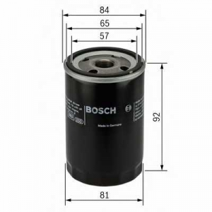 Масляный фильтр 0986452036 bosch - HONDA ACCORD VII купе (CG) купе 2.0 i 16V