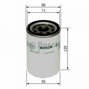 Масляный фильтр 0986452046 bosch - NISSAN TERRANO II (R20) вездеход закрытый 2.7 TD 4WD