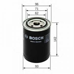 Масляный фильтр 0986452400 bosch - AUDI A4 (8D2, B5) седан 1.9 TDI