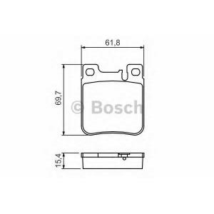 �������� ��������� �������, �������� ������ 0986460965 bosch - MERCEDES-BENZ C-CLASS (W203) ����� C 32 AMG Kompressor (203.065)