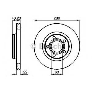 BOSCH 0986478869 Гальмівний диск - заміна на 0986479916