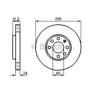 ��������� ���� 0986478881 bosch - OPEL ASTRA G ����� (F69_) ����� 1.6 16V