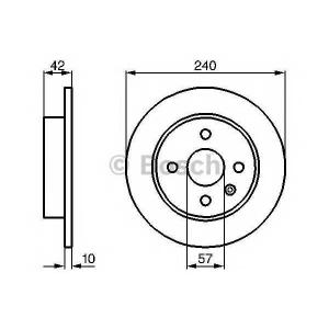 BOSCH 0986478882 Гальмівний диск - заміна на 0986479918