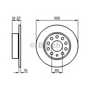 ��������� ���� 0986479099 bosch - SEAT LEON (1P1) ��������� ������ ����� 1.6 TDI