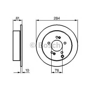 ��������� ���� 0986479126 bosch - KIA SPORTAGE (SL) �������� �������� 2.0 CRDi AWD