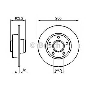 ��������� ���� 0986479144 bosch - RENAULT TRAFIC II ������� (JL) ������� 1.9 dCI 80 (JL0B)