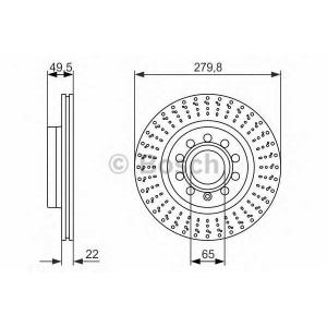 ��������� ���� 0986479940 bosch - SEAT LEON (1P1) ��������� ������ ����� 1.6 TDI