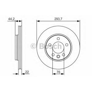 BOSCH 0 986 479 S06 Тормозной диск