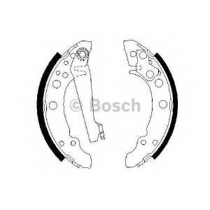 BOSCH 0986487002 Колодки гальмівні барабанні