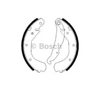Комплект тормозных колодок 0986487199 bosch - VAUXHALL ASTRA Mk III (F) седан 1.4 i