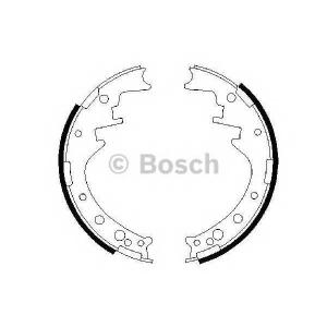 BOSCH 0986487292 Гальмівні колодки барабанні TOYOTA Hilux/VW Taro -98