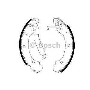 BOSCH 0986487389 Гальмівні колодки барабанні VW LT 2.4 -96