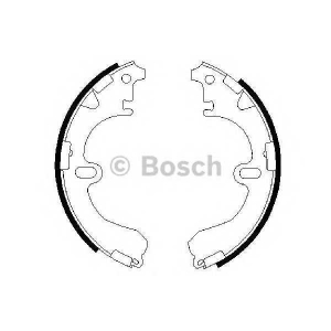 �������� ��������� ������� 0986487422 bosch - TOYOTA COROLLA (_E10_) ����� 1.3 XLI 16V (EE101)