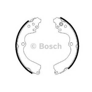 Комплект тормозных колодок 0986487463 bosch - SUBARU FORESTER (SF) вездеход закрытый 2.0