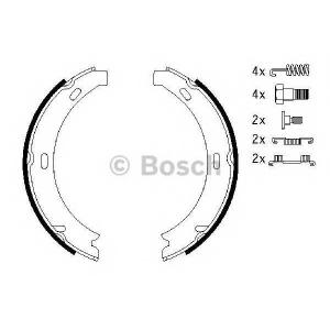 BOSCH 0986487584 Гальмівні колодки барабанні MB E-Class (W210,S210) -03