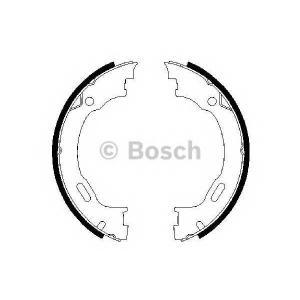 0986487609 bosch Комплект тормозных колодок, стояночная тормозная с MERCEDES-BENZ M-CLASS вездеход закрытый ML 430 (163.172)