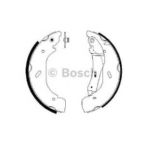BOSCH 0986487612 Колодки гальмівні барабанні
