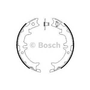 Комплект тормозных колодок, стояночная тормозная с 0986487615 bosch - LEXUS LS (UCF20) седан 400